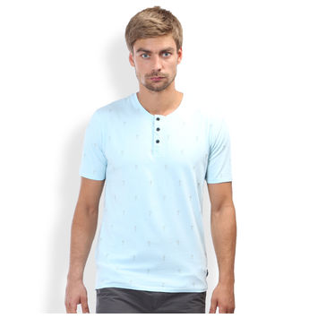 Breakbounce Pahi Regular Fit T -Shirt,  sky blue, xl