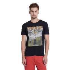 Breakbounce Kemen Regular Fit T-Shirt,  black, xl