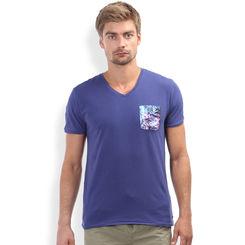 Breakbounce Mata Regular Fit T -Shirt,  ink blue, xxl