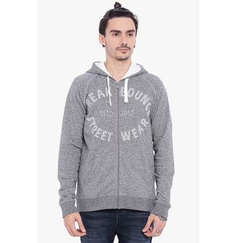 Breakbounce Harlan Men's Casual Sweatshirt, m,  grey grindle