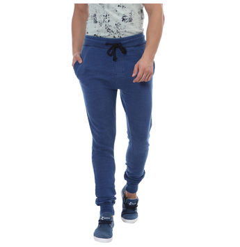 Breakbounce Tarima Regular Fit Solid Joggers,  light indigo, 30