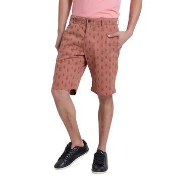 Breakbounce Rusty Regular Fit Chino Shorts,  tangarine gold, 32