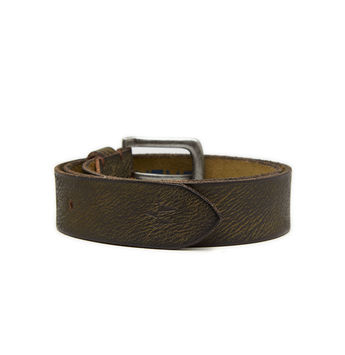 Breakbounce Cranes Men's Casual Belt,  green, 28/30
