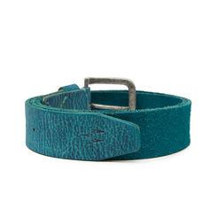 Breakbounce Bolts Men's Casual Belt,  turquoise blue, 32/34