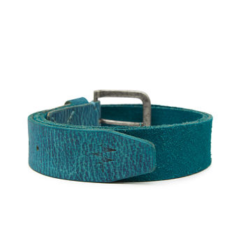 Breakbounce Bolts Men's Casual Belt,  turquoise blue, 32/34