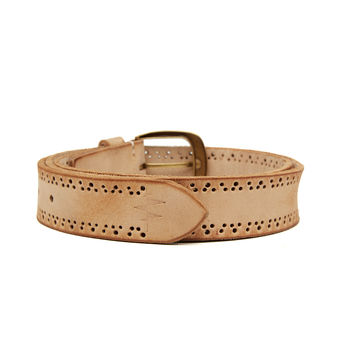 Breakbounce Tire Men's Casual Belt,  natural, 40