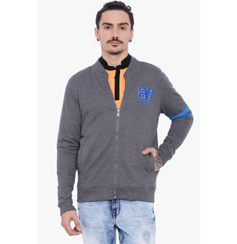Breakbounce Eugene Men's Casual Sweatshirt, s,  anthra melange