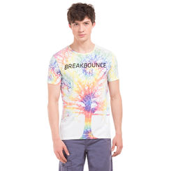 CAM Cloud White Regular Fit Printed T-Shirt,  white, m