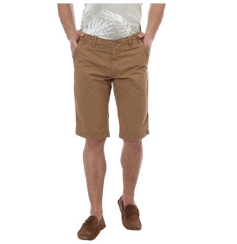 Breakbounce Moukato Solid Regular Fit Shorts,  brown l, 34
