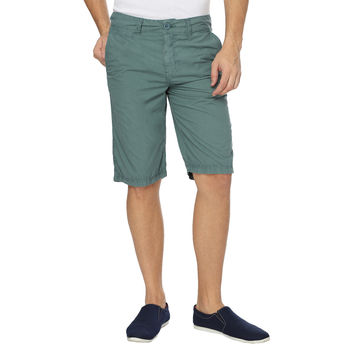 Breakbounce Astral Tapered Fit Solid Shorts,  forest green, 38