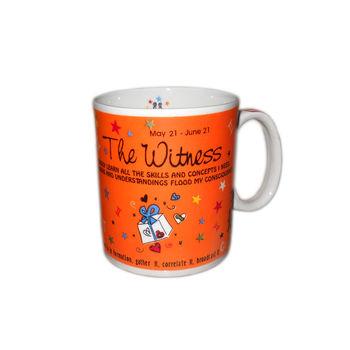 Zodiac Sign Ceramic Coffee Mug - Gemini, regular