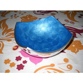 Medium Snacks Serving Bowl - Blue, regular