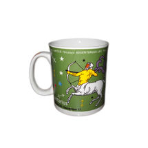 Zodiac Sign Ceramic Coffee Mug - Sagittarius, regular