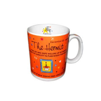 Zodiac Sign Ceramic Coffee Mug - Capricorn, regular