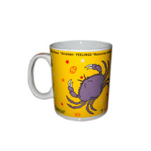 Zodiac Sign Ceramic Coffee Mug - Cancer, regular
