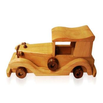 Wooden Toys - Vintage Car - Big, regular
