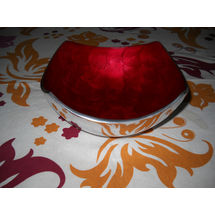 Medium Snacks Serving Bowl - Red, regular