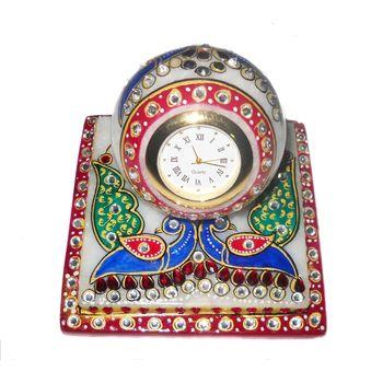 Marvellous Marble Chowki Table Watch, regular