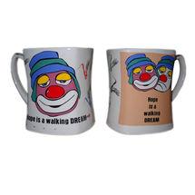 Motivational Message Milk and Coffee Mugs - Joker, regular