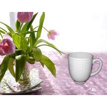 Golf Ball Design Coffee Mug Set - Set of 2, regular