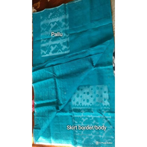 Dhakai Jamdani Cotton Saree 6