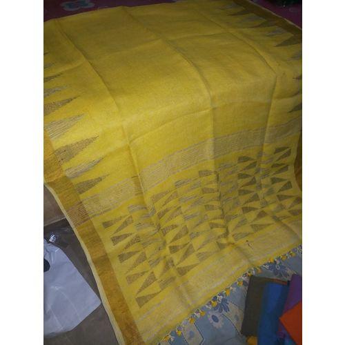 Pure Linen Jamdani Saree 6
