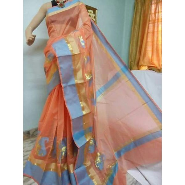 Banarsi Cotton Silk Saree 12