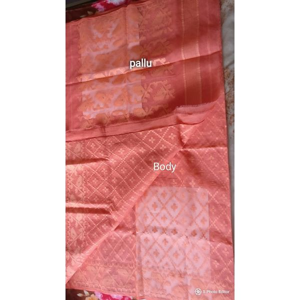 Dhakai Jamdani Cotton Saree 2