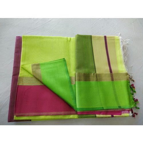 Pure Maheswari Cotton Silk Saree 39
