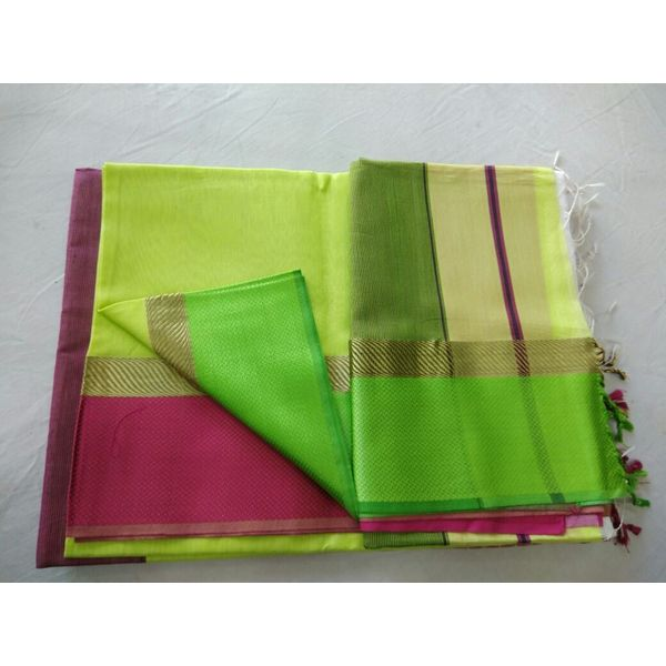 Pure Maheswari Cotton Silk Saree 39