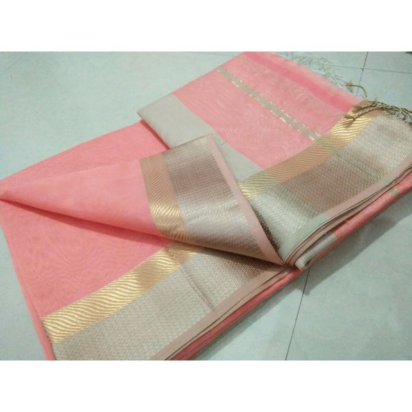 Pure Maheswari Cotton Silk Saree 34