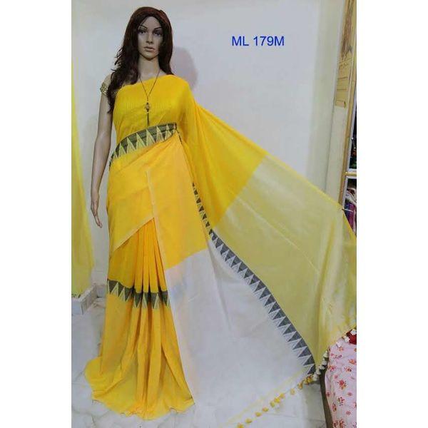 Madhyamoni Khadi Cotton Sarees Directly from Weavers 18