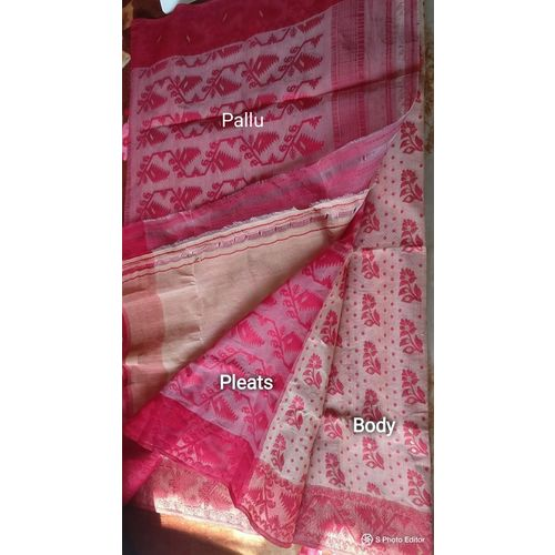 Dhakai Jamdani Cotton Saree 9