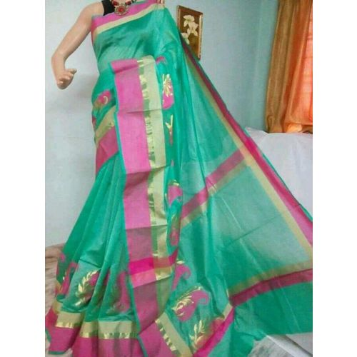 Banarsi Cotton Silk Saree 1