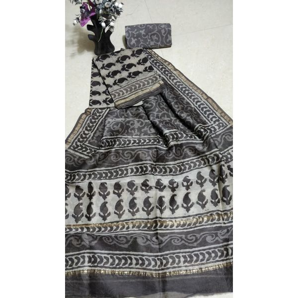 Chanderi Silk Salwar Suit-43