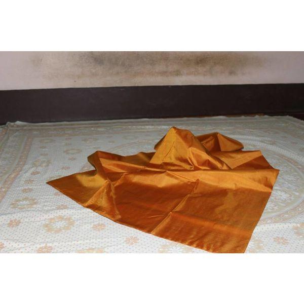 Bishnupuri Silk Saree in Solid/Plain Colours 11