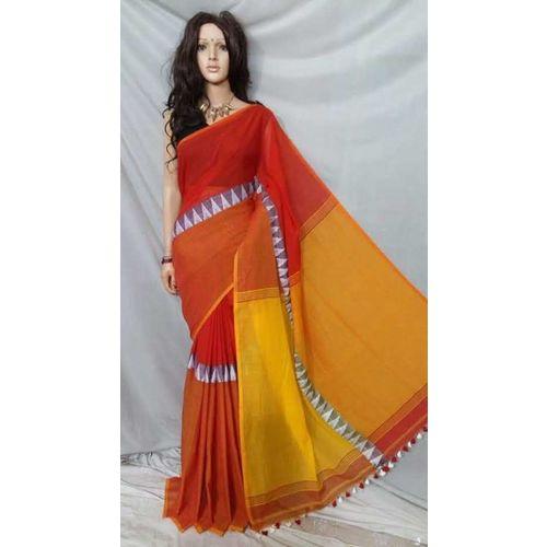 Madhyamoni Khadi Cotton Sarees Directly from Weavers 16