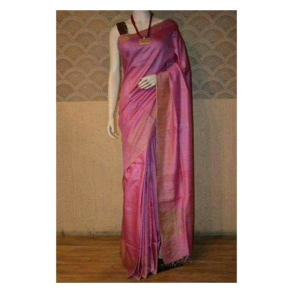 Bhagalpuri Tussar Moonga Silk Saree 2