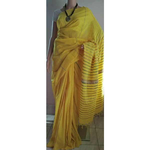 Pure Cotton Khes Saree 14