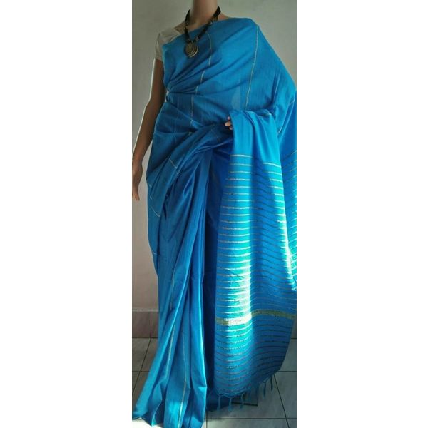 Pure Cotton Khes Saree 11