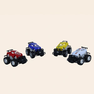 Push And Go Powerful Friction Car Toy For Kids,  all, 10   8.8   8.5 cm   4, plastic