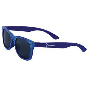 Fancy Blue Kids Sunglasses, plastic, 13   3   6 cm,  blue