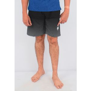 Men's Shorts, xxxl, 90  polyester and 10  spandex,  black