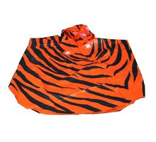 Tiger Raincoat for Kids - Set of 4, multicolor