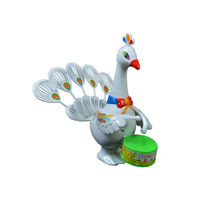 Musical Peacock Toy - Set of 2