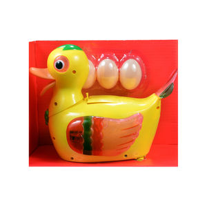 Egg Laying Duck Flashing Lights Colorful Funny Toy