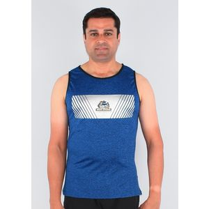 Ultra Soft And Smooth Sleeveless T-Shirt For Men's, xxl, 90  polyester and 10  spandex,  grey