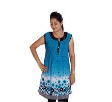 Blue Kurti for Women, xl