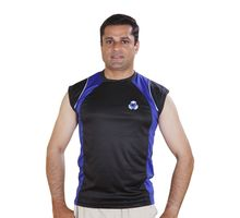 Sleeveless Jersey for Men, xl,  black