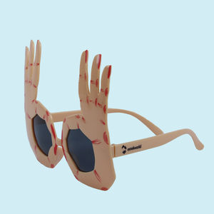 Fancy See Party Sun Glasses for Boy's and Girl's, plastic, 27   3   28 cm,  brown